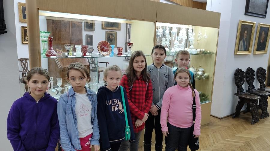 Wyjście klasy III do Muzeum Regionalnego w Jaśle